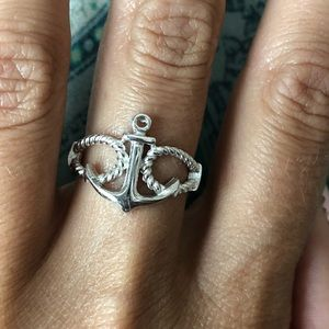 Jewelry - Anchor sterling silver ring